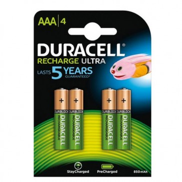 duracell oplaadbare batterijen aaa