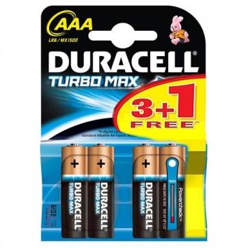 Duracell Turbo max AAA batterijen