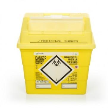 sharpsafe 9 liter naaldencontainer