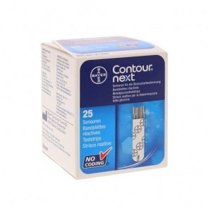 Contour NEXT teststrips 25 stuks