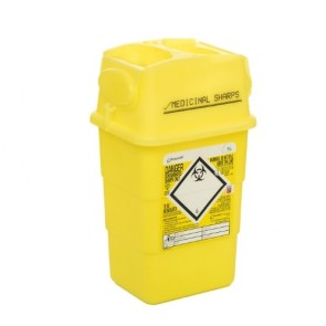 sharpsafe 1 l naaldencontainer
